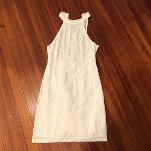 Abercrombie & Fitch Laced White Dress